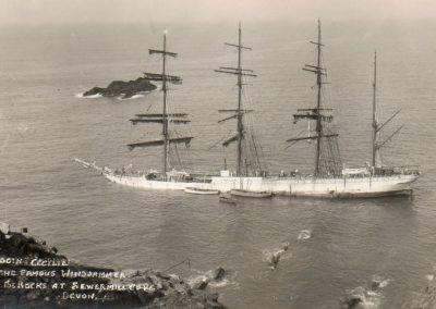 Herzogin Cecilie shipwreck.1936