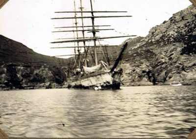 Herzogin Cecilie at Starehole Bay