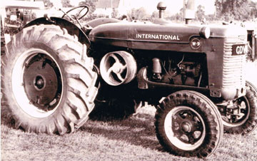 1947-1950 owned by Bill Goodman threshing, now belongs to Michael Partridge