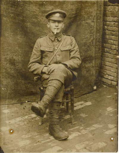 Percy Herman Putt WWI