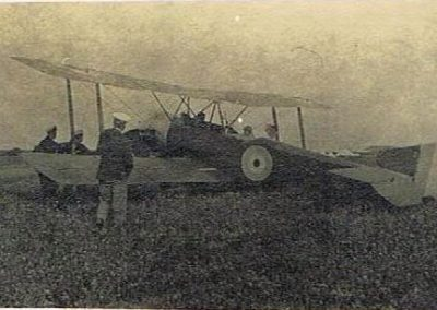 East Prawle Airfield Sopwith 1 1/2 strutters WWI