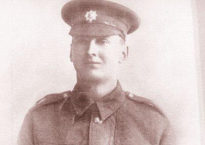 Fernley Edward Baker (in Devon uniform), later Coldstream Guards WWI