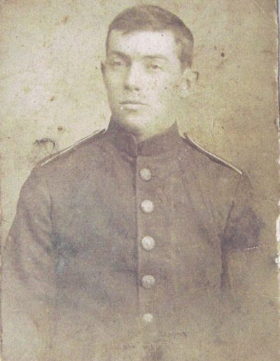 Lance Corporal John Parker Hannaford MM killed in action in France 17 Sep 1916 aged 21 WWI