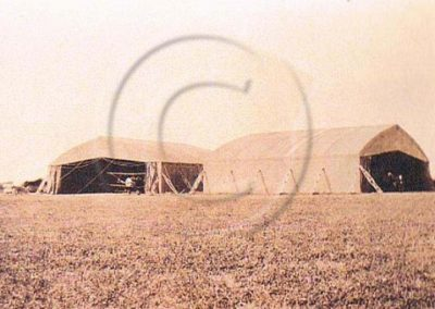 Airfield Hangers at East Prawle Aerodrome WWI