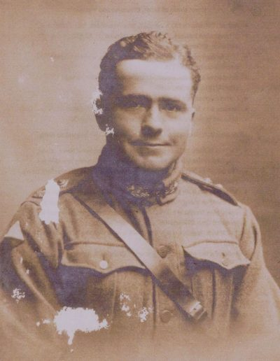 Lt Hubert Worthy Tripp uncle of Geoffrey Tripp Higher Farm East Prawle WWI