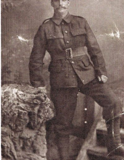 William H Sullock, son of Richard Sullock ex Cornwall, Aveton Gifford and South Pool WWI