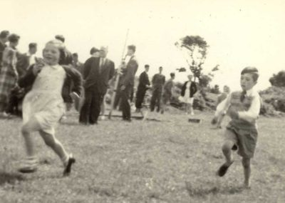 Coronation Ashley Atkins running 1953
