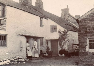 The original post office in East Prawle from 1890, but photograph after 1903 and before 1915