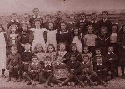 East Prawle school 1st group 1908, names needed