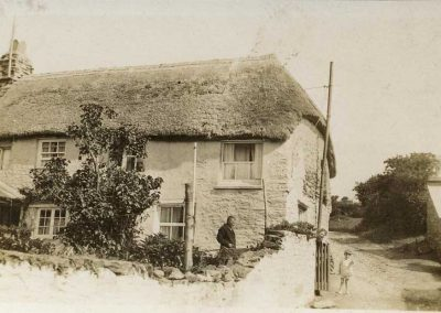 The Thatches with Harry and Ella Ford and their son Elwyn, undated