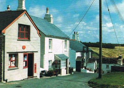 The Post Office on Prawle Green c 1988, it closed in December 1993