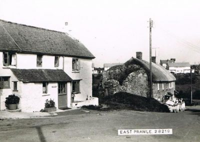 Fuschia Cottage (now known as Providence Cottage) c 1964, one of the oldest cottages in East Prawle