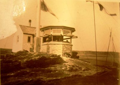 Lloyds Signal Station and Admiralty Coastguard Lookout c1913