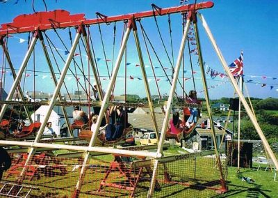 Prawle Fair, Alan Blyth's swing boats,  2002