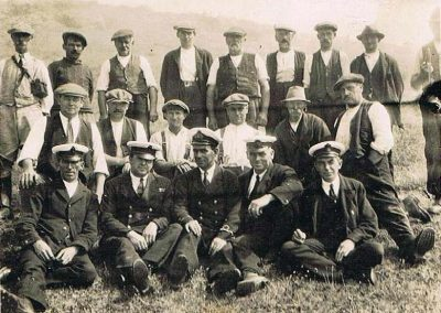 East Prawle LSA Rocket Apparatus crew 1928