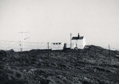 Lloyds Signal Station at Prawle Point, now National Coastwatch 1882-1956