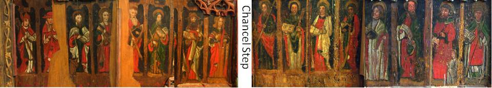 Rood Screen Saints St Sylvester