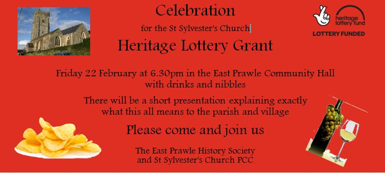 St Sylvester's Heritage Lottery Grant and invitation