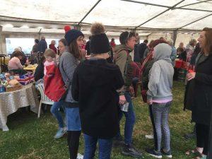 The Tea tent at Prawle Fair