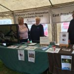 East Prawle History Society display at Prawle Fair