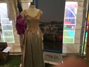 Esmerelda on display at Prawle Fair