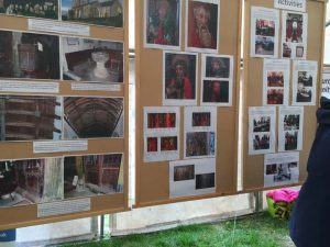Photographic display at Prawle Fair