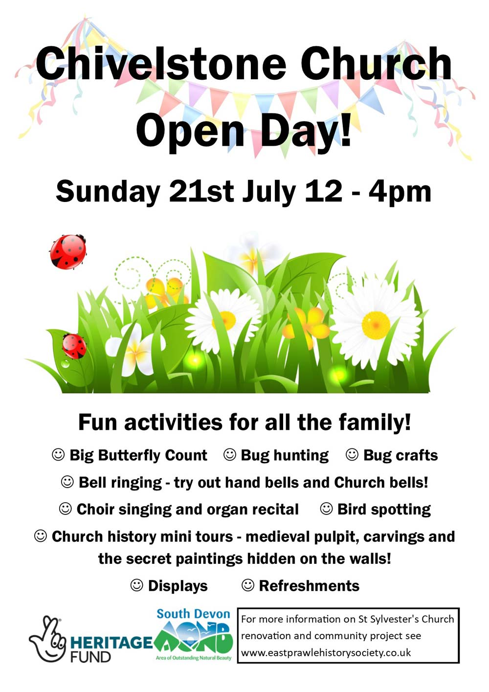 Open Day at Chivelstone Church