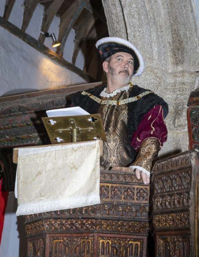Henry VIII renouncing the Catholic Church