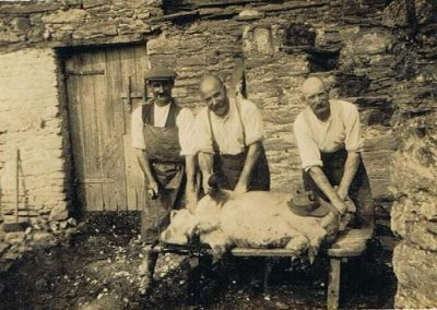 Pig killer, Granfer (WE) Tucker and George Farrier