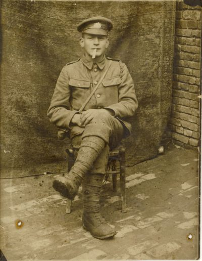 Percy Herman Putt WWI