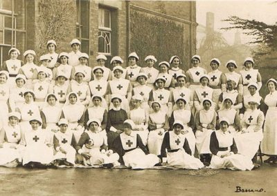 WWI Nurses at South Allington House