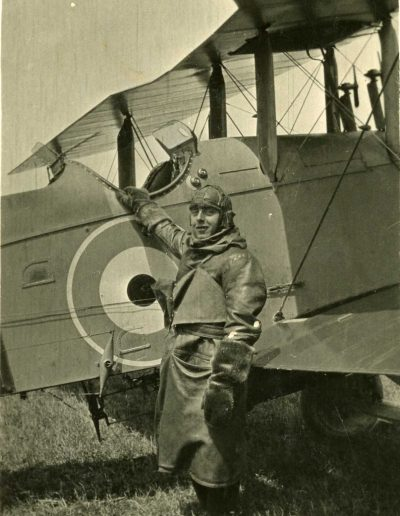 MF RNAS East Prawle unknown pilot WW1