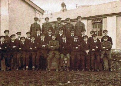 Royal Naval Air Service camp World War I group photograph WWI