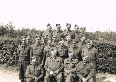 East Prawle Home Guard, September 1942 (names not listed) WWII