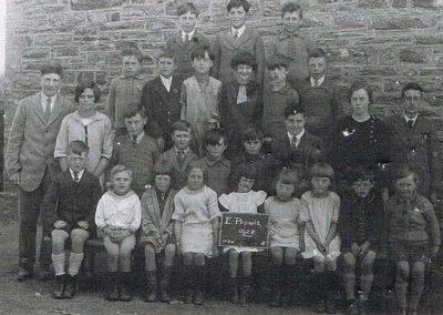 East Prawle School children, need names, 1928