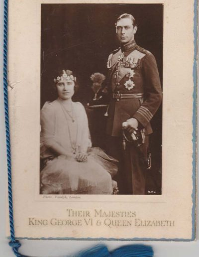 Coronation souvenir of King George VI and Queen Elizabeth 12 May 1937