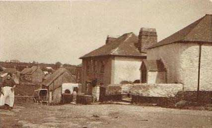 Methodist Chapel, the Providence Inn before the Assembly Room was built, pre 1920s