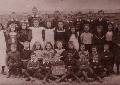 East Prawle school 1st group 1908, names needed