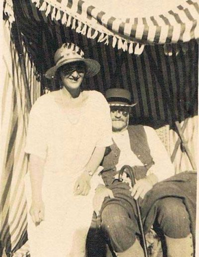 Edward Andrew Baker (father to Wreford) and Torie Baker (Wreford's sister)? Pre1940s