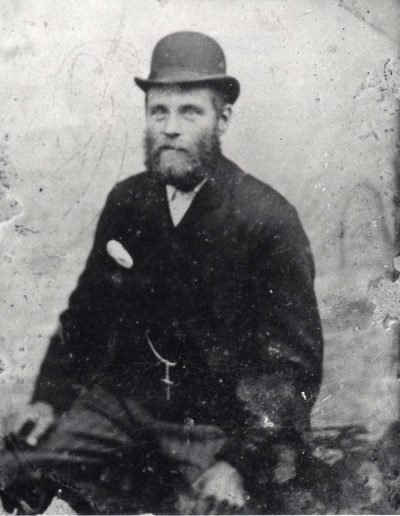 Philip Putt (father to Ella Ford, grandfather to Ashley and Elwyn Ford), taken from a tin, undated