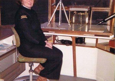Prawle Point Coastguard lookout, Norah Kingston, Auxilary coastguard, 1981