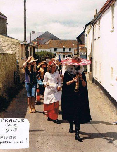 Prawle Fair Piper Melville! 1973