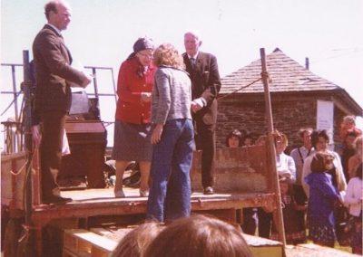 Prawle Fair, Roger Tucker, Dorothy Tripp, Sue Cater, Mr Baker 1973