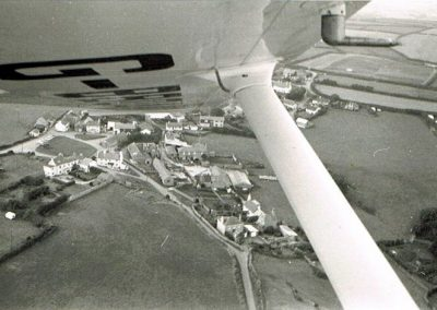 Aerial view of East Prawle summer 1979