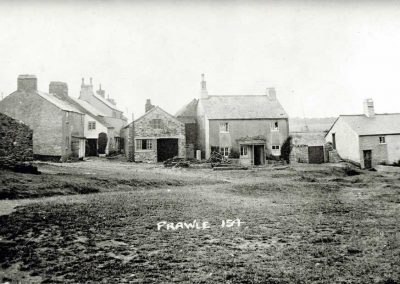 Corner Cottages, the Blacksmith, Sunnyside Cottages and the Union Inn Hotel (Pigs Nose)