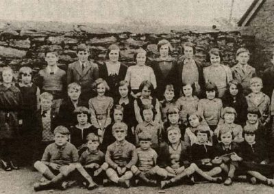 Photograph from Gazette: Prawle school 1934, with permission from the Cookworthy Museum