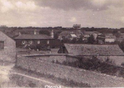 Postcard Lower House Farm East Prawle, pre 1949