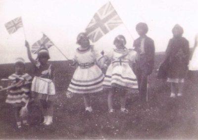 Coronation party 1953