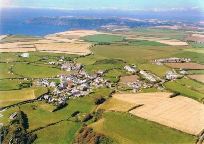 Aerial view of East Prawle c 2000