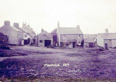 East Prawle Green with blacksmith and Sunnyside, post 1908